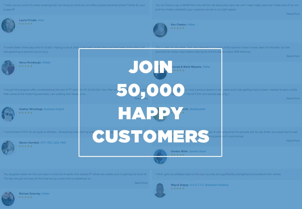 Join 50,000 Happy Customers