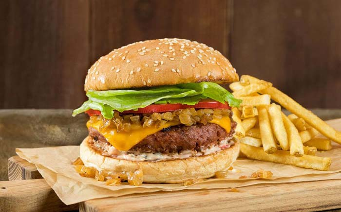 Veggie Grill Burger - Healthy Fast Food